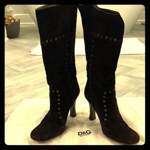 Dolce & Gabbana suede boots